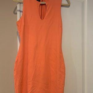 bebe Dresses - bebe cantaloupe dress